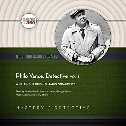 Philo Vance, Detective, Vol. 1 audiobook cover art
