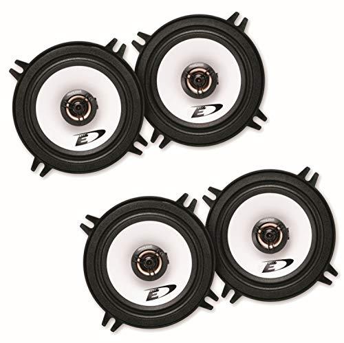 Lautsprecher System Boxen kompatibel mit BMW 5er E39 Touring und Limousine Alpine SXE-1325S 2-Wege Koaxial für die Türen vorne sowie Heckklappe bzw. Dachhimmel hinten