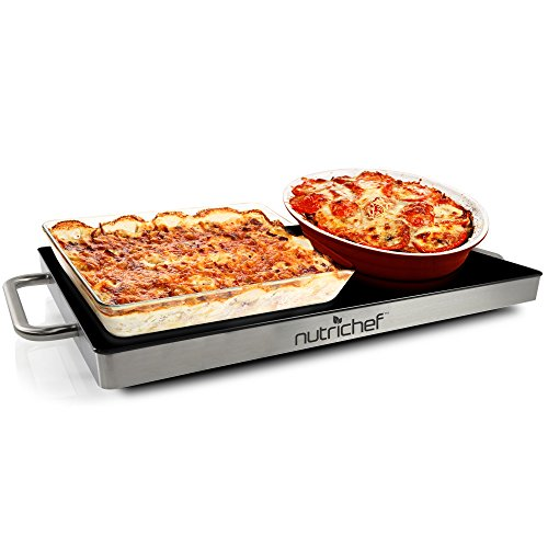 Nutrichef Portable Electric Hot Plate Tray Dish...