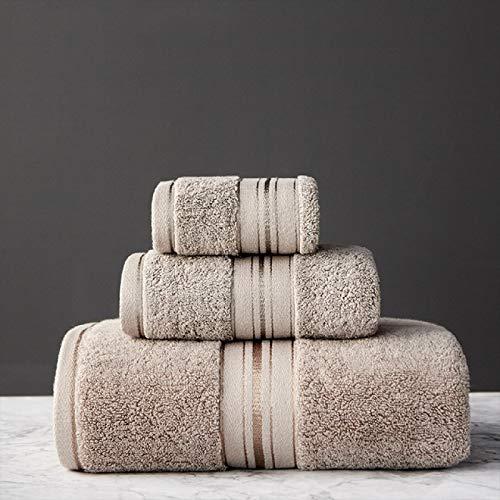 HENGYUSM Toalla de baño de algodón Juego de Toallas de algodón Gyptian Toalla de baño y Toalla de Cara Puede una Sola opción Toalla de baño Toallas Deportivas de Viaje