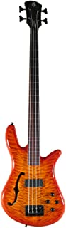 Spector SpectorCore4 Bass Guitar (4 String, Fretless, Amberburst)