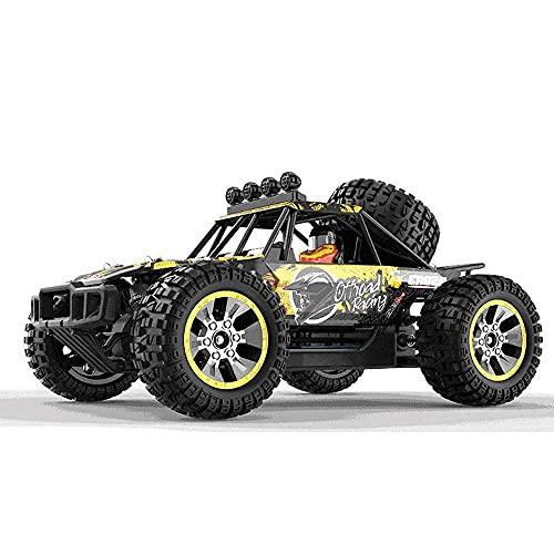 Decoración del hogar Escala 1/10 Off-road Control remoto Coche de juguete 2.4G Wireless Drift RC Car Todo terreno 4WD Escalada RC Car Amortiguador hidráulico Monster RC Truck Regalos para niños y n