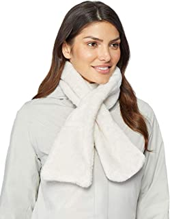 Womens Luxe Faux Fur Scarf