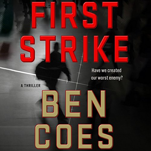 First Strike audiobook cover art