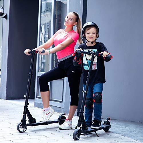 MEGAWHEELS E Scooter Tret-Roller, CityRoller Elektrischer Roller Klappbar mit 12km Langstrecken Akku, bis zu 23km/h, Einfach zu Falten und zu Tragen E-Roller für Erwachsene Jugendliche und Kinder - 9