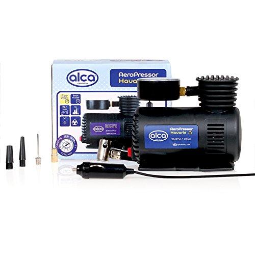 alca® Luftkompressor elektrische Luftpumpe tragbarer Mini Kompressor