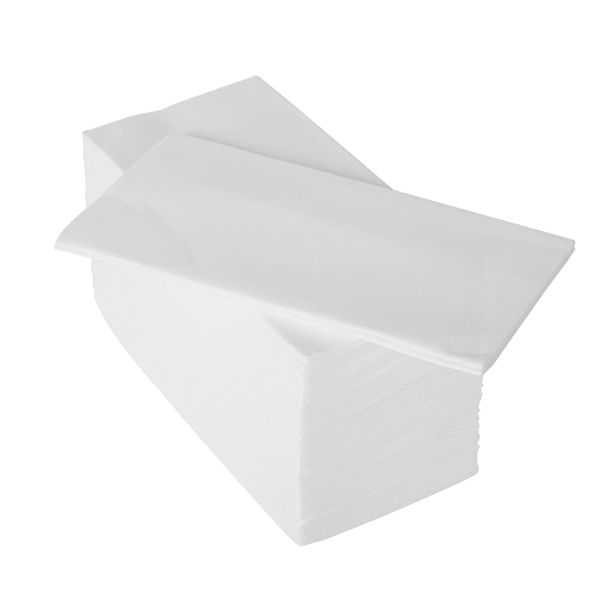 Honey Bright Linen-Feel Guest Towels (200 Pack) White Disposable Cloth-Like Paper Hand Napkins, 12