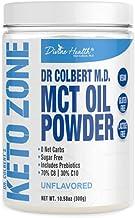 Dr Colbert s Keto Zone MCT Oil Powder – Vegan – Unflavored – 300 Gram – 30 Servings Estimated Price : £ 32,50