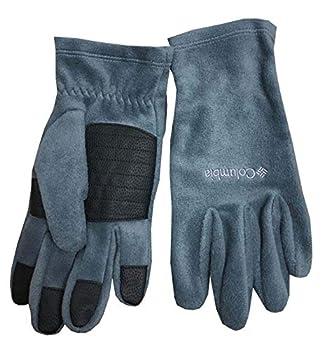 Columbia Men Agent Heat II Thermal Reflective Omni-Heat Fleece Winter Gloves  L Grey