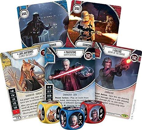 Star Wars Destiny Legacies Set Lookout Post #61 Rare w// Premium Die