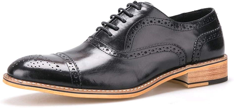 62c79d7cb2933 AADDIN Leather shoes Men shoes Carved shoes shoes shoes Brown shoes ...