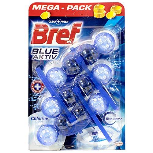 Bref WC Frisch Blue-Aktiv Chlorine 3 Stück Mega-Pack = 1 Stück pro Pack