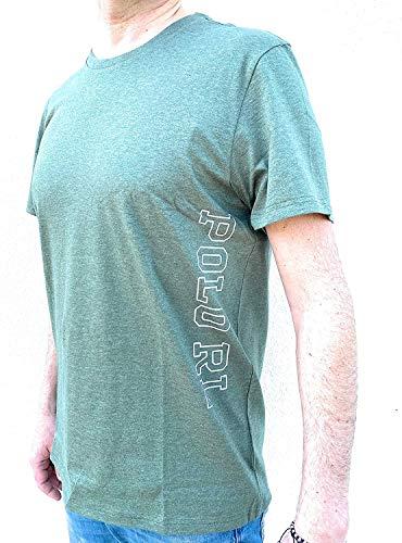 Ralph Lauren t-Shirt Uomo Verde Militare Tg. L