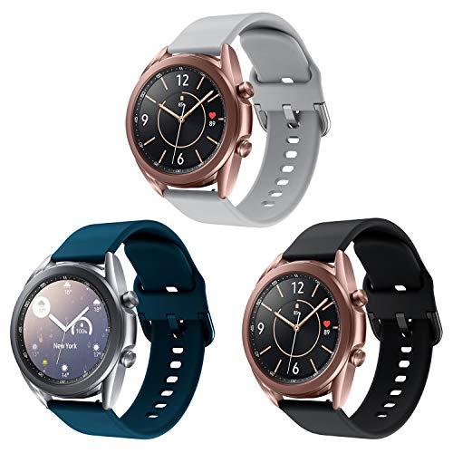 Aimtel Correa de Reloj Compatible con Samsung Galaxy Watch 3 de 41...