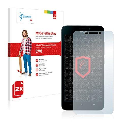 Vikuiti 2X Bildschirmschutzfolie CV8 von 3M kompatibel mit Huawei Ascend G630 Schutzfolie Folie