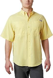 Men's PFG Tamiami II Short Sleeve Shirt, UPF 40 Sun Protection, Wicking Fabric