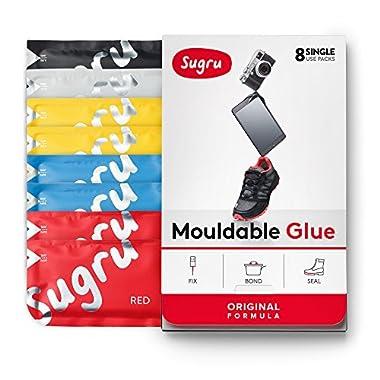 Sugru Moldable Glue - Original Formula - Classic Colors 8-Pack