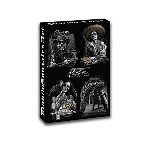Midsouth Products David Gonzales Art Poker Playing Cards - Western