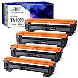 LxTek Compatibile Toner Sostituzione per TN1050 (1000 pagine) per Brother HL-1210W HL-1212W HL-1110 HL-1112 DCP-1510 DCP-1512 DCP-1610W DCP-1612W MFC-1810 MFC-1910W (4 Nero)