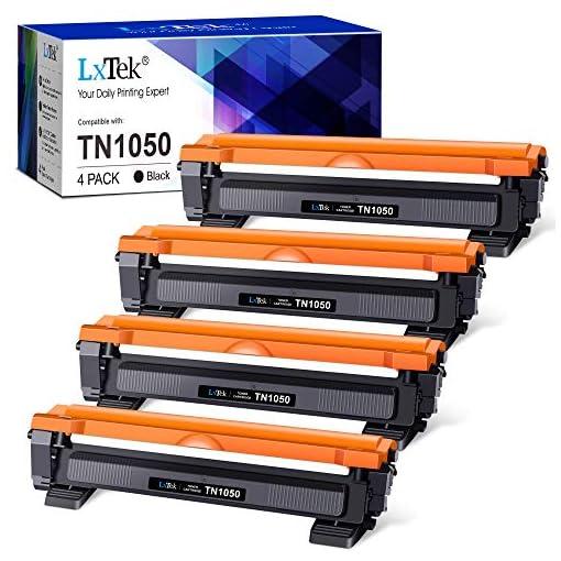 LxTek Compatible Reemplazo para Brother TN1050 TN 1050 Cartuchos de tóner para Brother HL-1210W HL-1212W HL-1110 HL-1112… 1