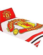 Manchester United 'Pulse' omkeerbare eenpersoons dekbedovertrek set