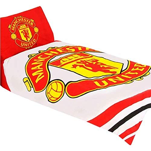 Manchester United 'Pulse' wendbar Einzelbett, Steppdecke, Set