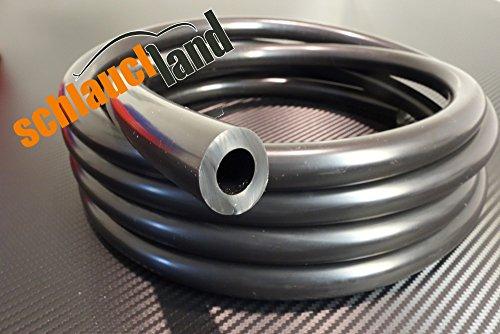 Unterdruckschlauch Innendurchmesser 12 mm schwarz *** Silikonschlauch Vakuumschlauch Schlauch Meterware