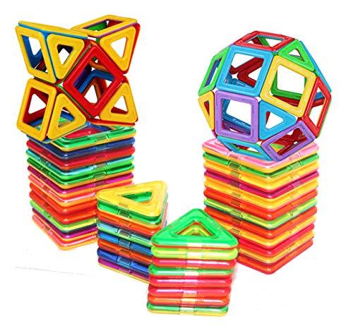 dreambuilderToy Magnetische Fliesen,40PC, Magnetische Bausteine Spielzeug by (40)