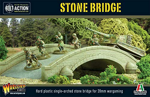 Bolt Action Stone 1:56 WWII Military Wargaming Diorama Plastic Model Kit