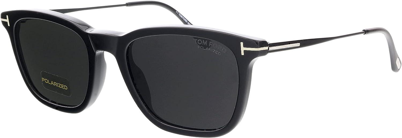 Sunglasses Tom Ford FT 0625 Arnaud- 02 01D shiny black/smoke polarized