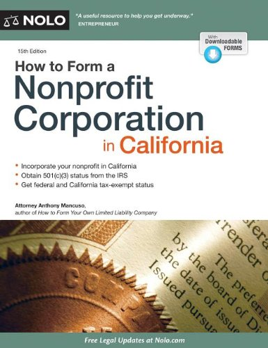 Image OfHow To Form A Nonprofit Corporation In California