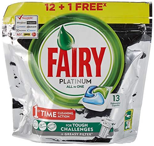 Fairy Fairy Det Geschirrspüler Platin 12+1 300