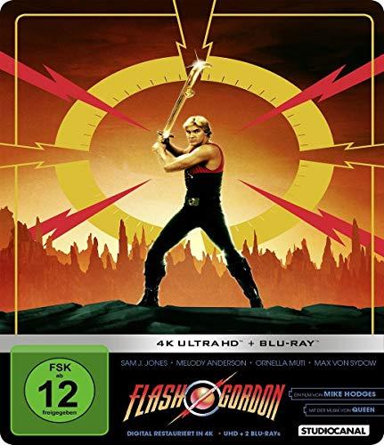 Flash Gordon - Limited Steelbook Edition (4K Ultra HD + Blu-ray)