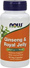 NOW Foods NOW Foods Ginseng & Royal Jelly Caps. 90's