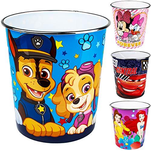 alles-meine.de GmbH Papierkorb / Behälter - Jungen Motiv - aus Kunststoff / Plastik - Mülleimer Eimer / Aufbewahrungsbox & Spielzeugkorb / Popcornschüssel - auch als Blumentopf n..