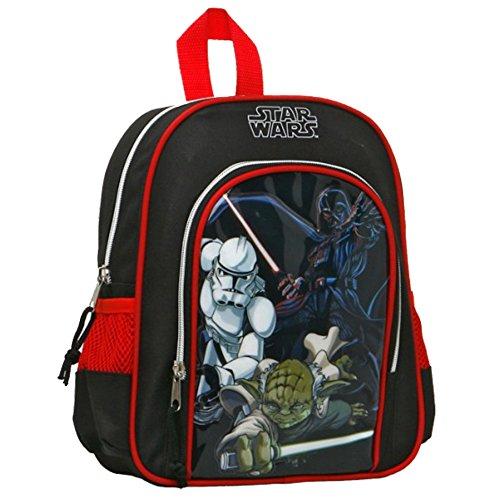 Atosa Enfant Sac à Dos Garçon Star Wars, 29327, Multicolore, 28 x 22 x 6 cm