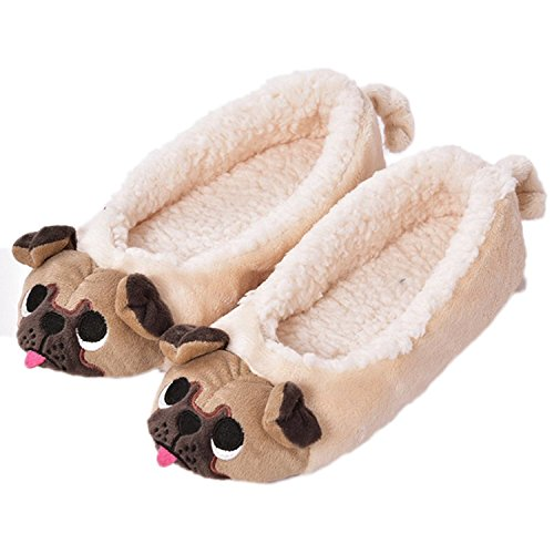 Cute & Cosy Pug Slippers