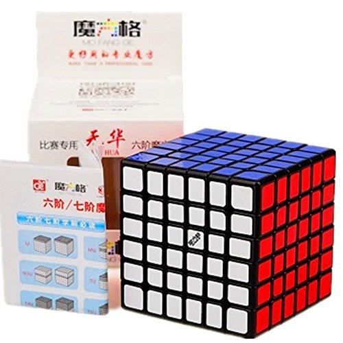 cuberspeed Qiyi Wuhua Black Magic Cube Mo Fang Ge Wuhua Black Speed Cube
