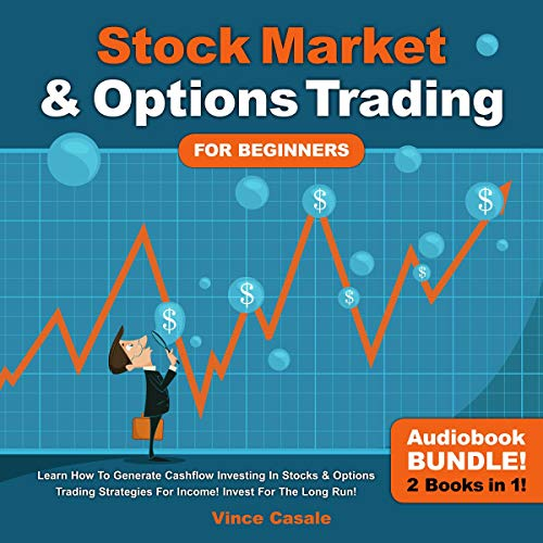 Stock Market & Options Trading for Beginners! audiobook cover art