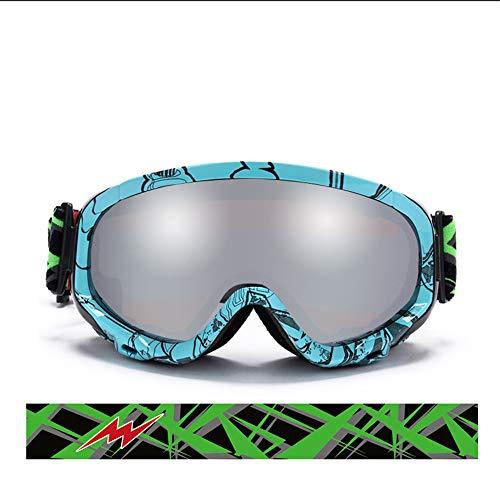 CYHW Skibril, uniseks, sneeuwbril, winter, outdoorsport, uitrusting voor surfen, sneeuw, skiën, verblindingsbescherming, sneeuwscooter, paardrijden