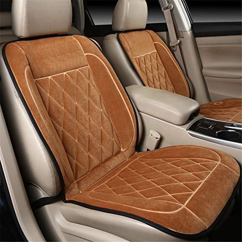 JWJDDA stoelbekleding voor autostoel, verwarming met thermostaat, intelligent, gloeit een gelijkmatige warmte en comfortabel, verwarmingskussen voor auto, ontvanger, kantoor