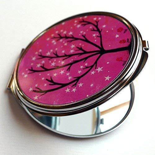 Miroir de poche, L'arbre pétillant, idée de cadeau