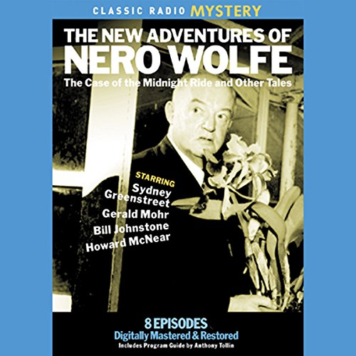 The New Adventures of Nero Wolfe audiobook cover art