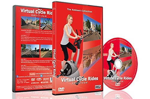 Virtual Cycle Rides - Amsterdam, The Netherlands - For Indoor Cycling, Treadmill and Running Workouts