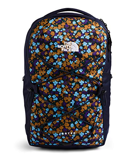 The North Face Women's Jester Backpack, TNF Navy Retro Floral Print/TNF Navy, One Size