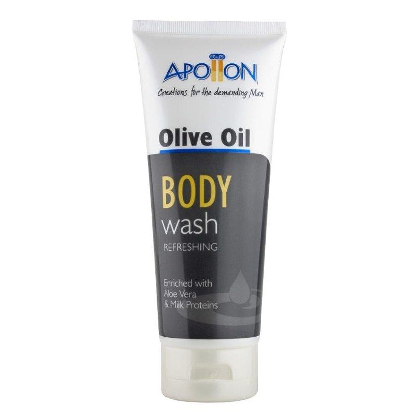 Aphrodite Apollon Olive Oil Body Wash for Men 200ml [Misc.] / ???200????????????????????????????????????[ Misc. ]