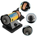 Herramientas de cincel eléctrico, herramientas de tallado de cincel eléctrico, mini amoladora eléctrica multifunción, máquina de tallado de mesa de madera, 10000 rpm(EU Plug 220V)