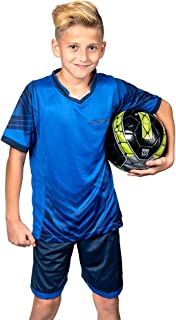 PAIRFORMANCE Boys' Soccer Jerseys Sports Team Training Uniform| Age 4-12 |Boys-Girls-Youth Sport Shirts and Shorts Set