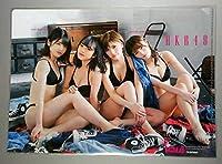 クリアファイル 岡田奈々 向井地美音 込山榛香 村山彩希 AKB48 両面印刷 付録 BOMB