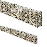 BELLISSA Wall Grid Grille Fence Gabion Length 464 x Width 10 x Height 20 Centimeter